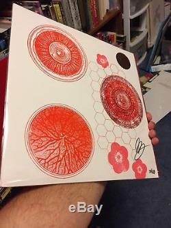 Melvins Ozma Letterpress Tour Edition 31/69 Blue Vinyl Signed By Buzz