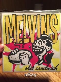 Melvins Shit Sandwich 7 vinyl Amrep signed