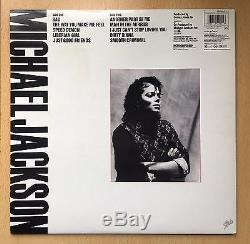 Michael Jackson BAD VINYL SLEEVE ALBUM Autographed SIGNED with COA