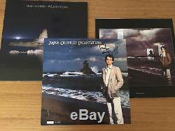 Mike oldfield Incantations 2011 vinyl reissue rare signed no. 377 0f 500