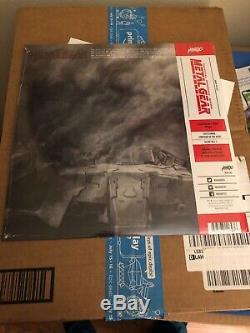 Mondo Metal Gear Solid Vinyl 2XLP Gray Fox Variant Soundtrack SDCC 2019 Signed
