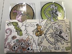 Motion City Soundtrack, My Dinosaur Life Vinyl Box Set, Picture Discs, Signed