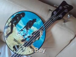 Motorhead autograph bass guitare LEMMY signed live lp vinyle picture disc rare
