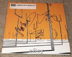 Muse Signed Autograph Origin Of Symmetry Vinyl Album Matt Bellamy +2 Exact Proof