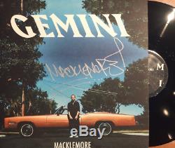 NEW SUPER RARE Macklemore Gemini SIGNED Vinyl LP x/200 SOLD OUT