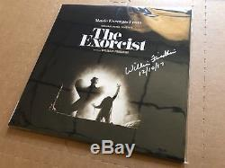NEW SUPER RARE The Exorcist Soundtrack Clear Vinyl LP SIGNED by William Friedkin