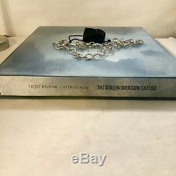 NIN Trent Reznor signed Girl With Dragon Tattoo Deluxe Vinyl Box Set 1049/3000 U