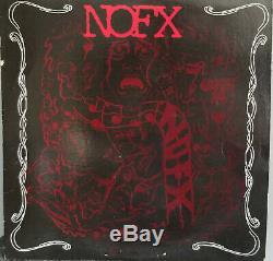 NOFX Liberal Animation LP Vinyl Wassail Records Autographed