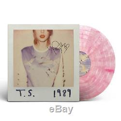 New Taylor Swift 1989 Signed Pink LP Vinyl Record Store Day RSD Nation SOLD OUT