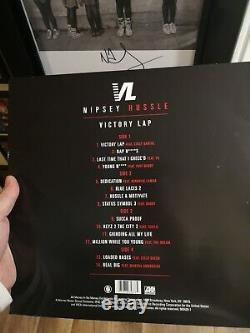 Nipsey Hussle Victory Lap Autographed Vinyl