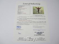 Nirvana Kurt Cobain In Utero signed autographed vinyl record album JSA COA CAS