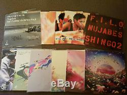 Nujabes vinyl collection (Including Luv-sic. Complete AND signed record)