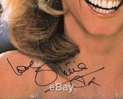 OLIVIA NEWTON-JOHN Signed LP VINYL MAKING A GOOD THING BETTER PSA/DNA # AC34680