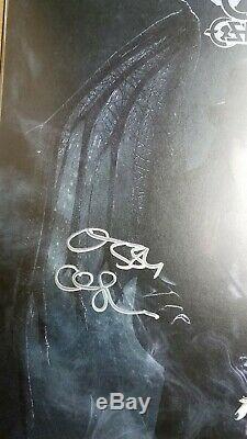OZZY OSBOURNE Ordinary Man Vinyl limited Smoke LP Autographed Litograph