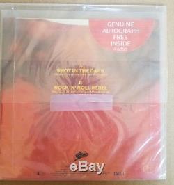 OZZY OSBOURNE Shot In The Dark 7 VINYL UK Epic 1986 ozzy SIGNED 1368/5000