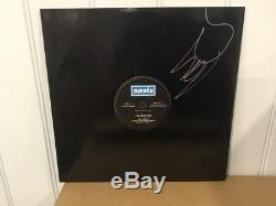 Oasis Live Forever 1994 UK 12 Vinyl Single CRE 185T Signed By Liam