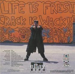 Original 1987 Keith Haring Crack Is Wack Signed Print & 12 Vinyl Nyc