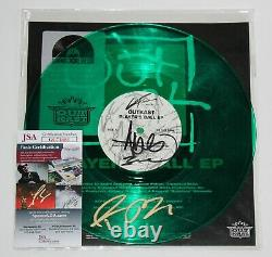 Outkast Signed Player's Ball Ep 10 Vinyl Record Andre 3000 Autograph Lp Rsd Jsa