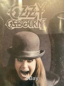 Ozzy Osbourne Autographed Vinyl Album