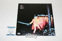 Ozzy Osbourne Signed Black Sabbath'paranoid' Album Vinyl Record Lp Beckett Coa