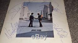 PINK FLOYD Wish you were here FULLY SIGNED Vinyl LP Gilmour Waters Mason Wright