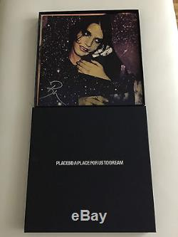 PLACEBO A PLACE FOR US TO DREAM PINK Vinyl 450 booklet signed NEW