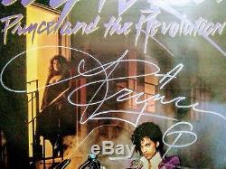 PRINCE Autographed'Purple Rain' Vinyl Record with LOA