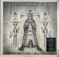 PUSCIFER SIGNED EXISTENTIAL RECKONING 2X LP Vinyl AUTOGRAPH MAYNARD KEENAN/BAND