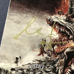 Papa Emeritus Tobias Forge Ghost Bc Band Signed Album Vinyl Lp Autographed Coa