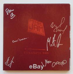 Pearl Jam Autographed Benaroya Hall Vinyl Set LE signed Vedder + 5 BAS COA (psa)