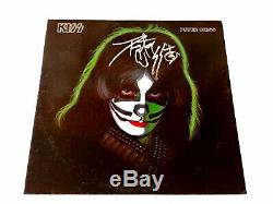Peter Criss Rare Autographed Hand Signed Solo Kiss Vinyl LP Record Free Shipping