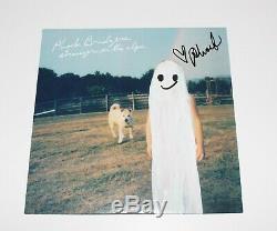 Phoebe Bridgers Signed Stranger In The Alps Album Vinyl Record Lp Coa Punisher