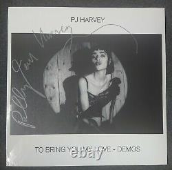 Pj Harvey To Bring You My Love Demos Vinyl Lp Signed Limited Edition