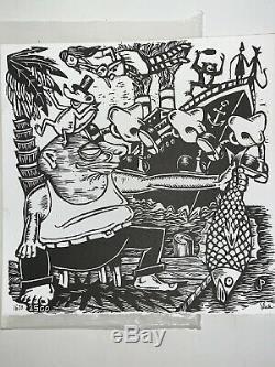 Pollock Edition PHISH Junta 2012 3x Vinyl LP & Signed Poster 1620/2500 EUC