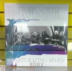 Primus Desaturating Seven Ltd White 12 Vinyl + De Rico's Rainbow Goblins Signed