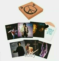 Prince SEALED Sign O'The Times 7 Singles Peach Vinyl Limited Edition Box Set