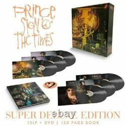 Prince Sign'O' The Times Super Deluxe 13 x 180G Vinyl LP Box Set & DVDNEW