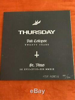 RARE Full Collapse Vinyl by Thursday St. Vitus Limited Etd. Signed/Numbered