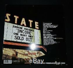 RARE Hand Signed Eminem ENCORE VINYL. 2004 Orignal Press