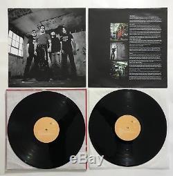 RARE Henry Rollins Band Nice 2 LP Vinyl Orig 2001 SPV Metal Autograph SIGNED EX