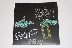 RUN THE JEWELS SIGNED SELF-TITLED ALBUM VINYL RECORD withCOA KILLER MIKE EL-P