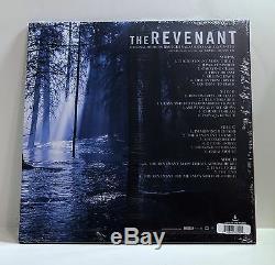RYUICHI SAKAMOTO The Revenant Soundtrack COLOR VINYL 2xLP Sealed AUTOGRAPHED