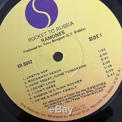 Ramones Rocket To Russia. Signed In 1978 Original Members VG+ Sleeve NM Vinyl