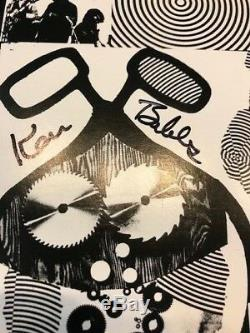 Rare Autographed The Acid Test Vinyl Ken Babbs Ken Kesey Rsd 2017 Grateful Dead