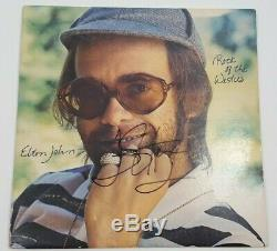 Rare Vinyl Elton John autographed signed Rock of The Westies LP withCOA VG+