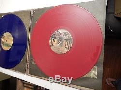 Rata Blanca Signed El Camino Del Fuego Vinyl Blue / Red Record! Rare