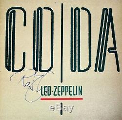 Robert Plant, Led Zeppelin. AUTOGRAPHED Coda Vinyl Record