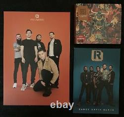 SIGNED Dance Gavin Dance MEGA BUNDLE Vinyl LP Cassette CD Poster Comic Blanket