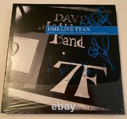 SIGNED Dave Matthews Band Live Trax Vol 1 RSD DMB Blue Vinyl RARE Carter Atefan