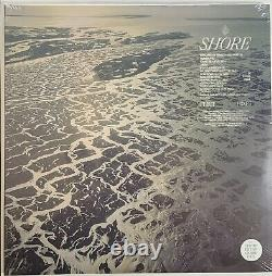 SIGNED Fleet Foxes Shore Blue Ocean Swirl Vinyl Record